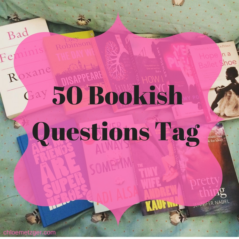 50 Bookish Questions Tag