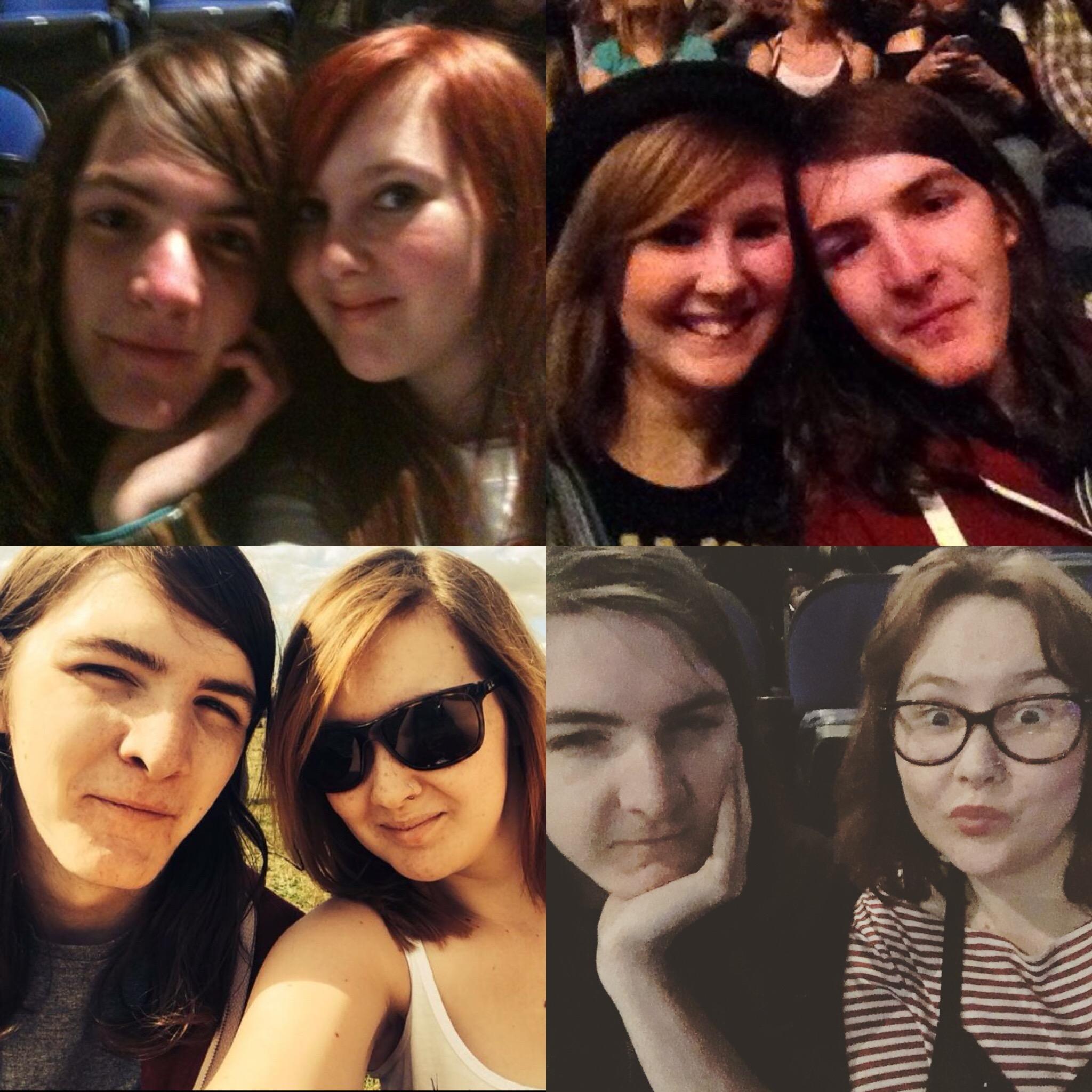 Couple Paramore 2010, 2013, 2014, 2018