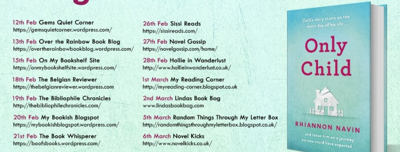 Only Child Blog Tour
