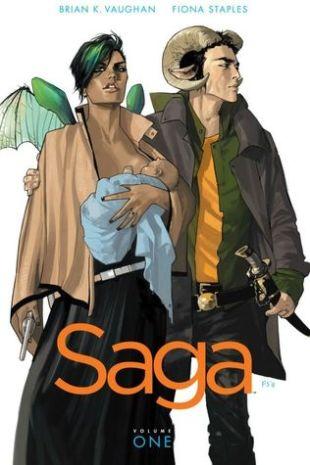 Saga Vol 1 - Brian K Vaughan