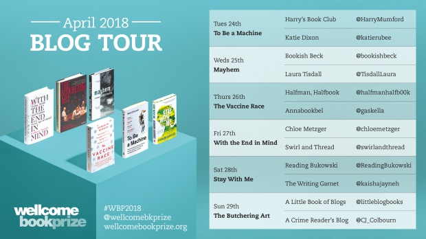 Wellcome Book Prize 2018