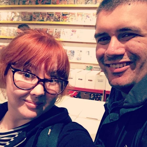 Me and Joe London May 2018