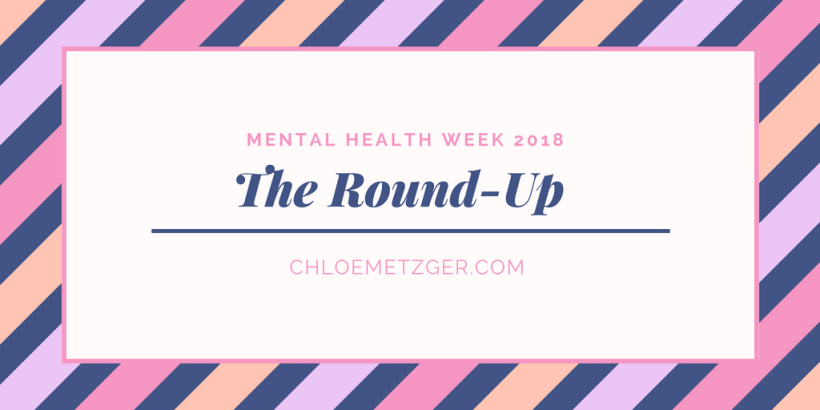 Mental Heath Week 2018 Round-Up