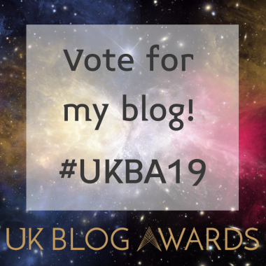 Vote for me! Badge 2 #UKBA19