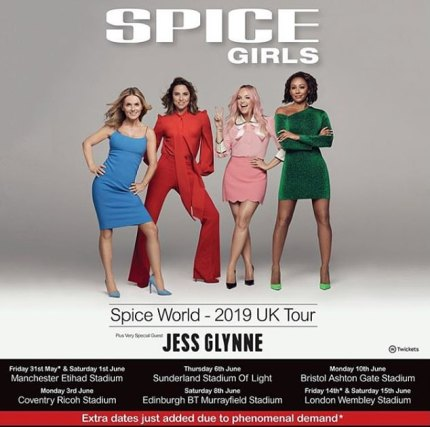 The Spice Girls Tour 2019