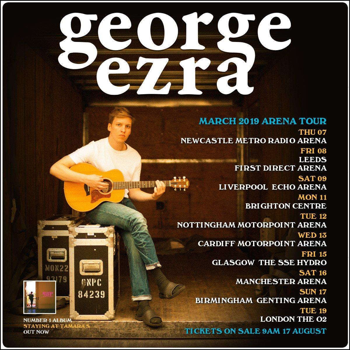 George Ezra Tour 2019