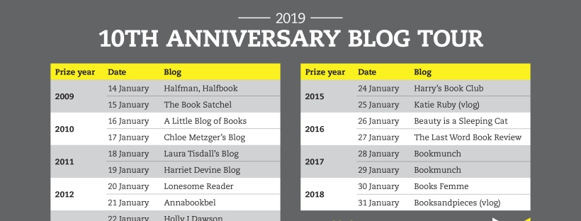 WBP 10th anniversary blog tour
