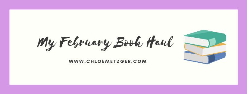 February Book Haul 2019