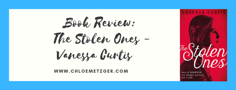 Book Review: The Stolen Ones - Vanessa Curtis