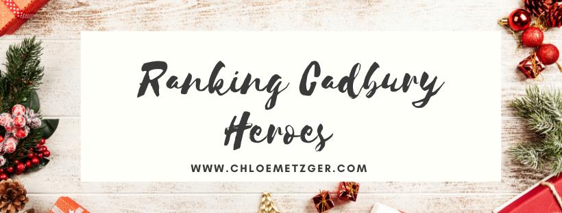 Blogmas 2019 - Ranking Cadbury Heroes