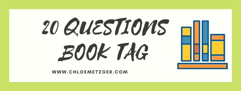 20 Questions Book Tag 2019