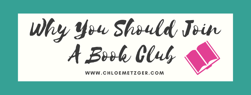 Why You Should Join A Book Club
