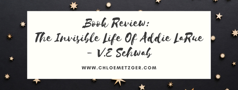 Book Review: The Invisible Life of Addie LaRue - V.E Schwab