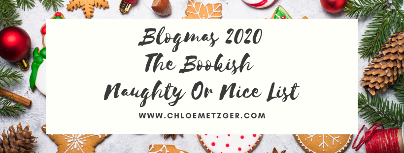 Blogmas 2020 - The Bookish Naughty or Nice List